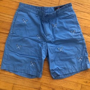Vineyard Vines Lacrosse Embroidered Breaker Shorts